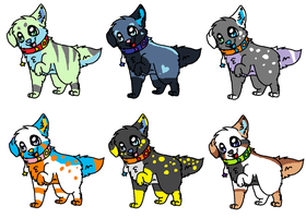 free wolf adopts OPEN! by P0CKYY