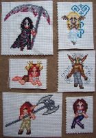 OC stitches part 1 -2010 by nocturnaliss