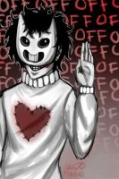 Zacharie by klutzforart