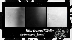 Black and White by innocentLexys