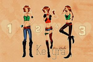 Keyra - New Looks by eve-sh