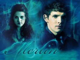 Merlin and Morgana by angie-sg