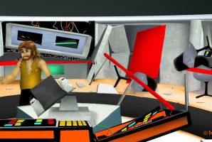 Barry Annoyed by hyperjet