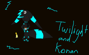 Twi and chocloate by Twilight-and-Konan