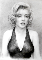 Marilyn Monroe by NaomiFuller