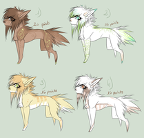 Adoptables . CLOSED. by SusuSmiles