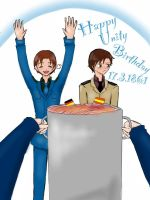 APH - Italy Happy Unity Birthday 17.3. by xXJustForFunXx