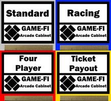 Game-Fi Arcade Cabinet Cards by LevelInfinitum