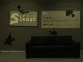 SpaikDesign website by MA-Graphics
