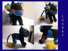 Luxray Commission by VenomousDesires