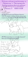 Pokemon meme filled in by GoldFlareon