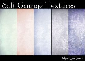 5 Free Soft Grunge Textures by ibjennyjenny
