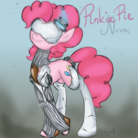 Warframe Pinkie (Nova) by minty-red