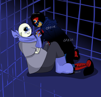 ErrorBerry - Trapped in a cage by Returnmemory