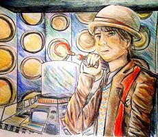 Email Commission: Seventh Doctor by FaithWalkers