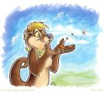 Shilla the otter by theOlven