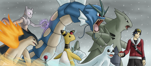 Pokemon HG: My Team by Arabesque91