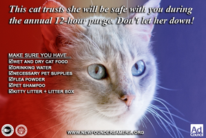 Purge Pet Safety Ads: For Cat Owners by MrAngryDog