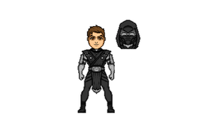 me as noob saibot by ZAGZOG