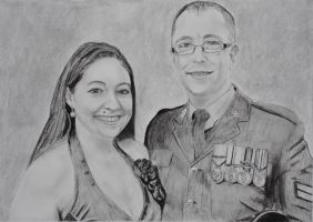 Wedding of Mr and Mrs Pat Andrew by astrogoth13