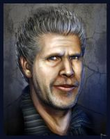Ron pearlman by mobius-9
