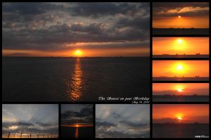 The Sunset on your Birthday by HariNgDuga