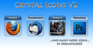 Crystal Icons V2 by OOmatrixOO