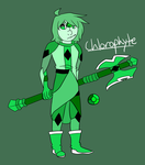 chlorophyte ref by kryptonit-e
