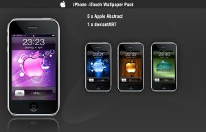 iPhone iTouch Wallpaper Pack by xexaplex