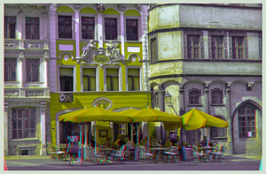Old Town of Goerlitz I :: DRi Anaglyph Stereoscopy by zour