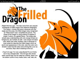 The Frilled Dragon Logo by AR-3