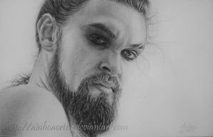 Khal Drogo - Game of Thrones by AinhoaOrtez