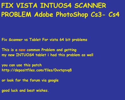 Fix Tablet Scanner Vista Prob by Kattscomics