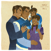 korrlok week pt2 day4 family by freestarisis
