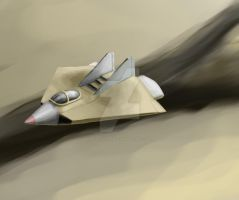 fighter jet concept for class by foofighters111