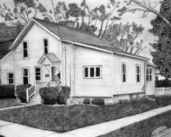 the ONLY HOUSE I drew by Doctor-Pencil