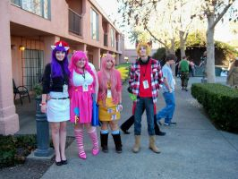 My Little Cosplay at SacAnime Winter 2012 by DearestLeader