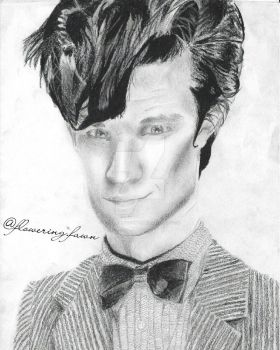 Eleventh Doctor by floweringfawn