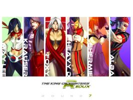 KOF REDUX:Round 7 by digitalninja