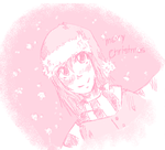 a very pink merry Christmas by chocobeery