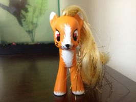 Custom Kitsune Pony by FumeSpitter