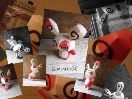 Spinda - Spin world by Dn04