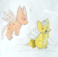 Floradragon contest drawing by Sylveon17