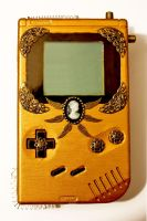 Steampunk-Gameboy by SecondHandGefuehl