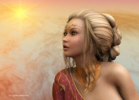 Sun Goddess by Radthorne