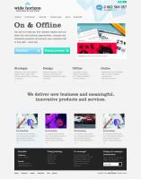 Agency website by colorlabelstudio