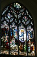 Denver Cathedral Window 28 by Falln-Stock