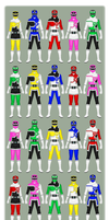 Ressha Sentai ToQger - A Redesign by partiallyBatty