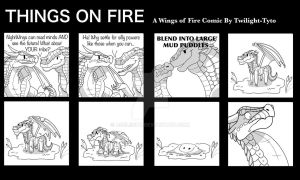 Things on Fire- In a Muddle by Twilight-Tyto