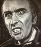 Christopher Lee by PaulSpatola